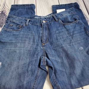 🆕️Women's Route 66 Relaxed Size 31 Blue Jeans/142